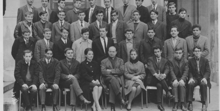 la classe en 1965